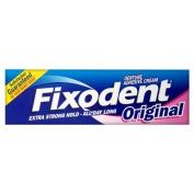 Fixodent Adhesive Cream Original - 3 x 40ml