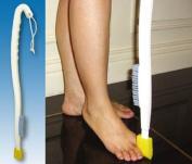 LONG HANDLED FOOT WASH + TOE WASH SPONGE - FOOT BRUSH - DISABILITY BATHING AIDS