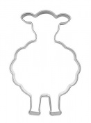 Sheep-Shaped Cookie Cutter 6.5 cm
