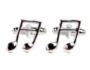 Quaver / Eighth note - Musical Notes Cufflinks - Shirt Accessories For Music Lovers