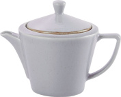 NEW Seasons Range of rustic inspired tableware by Porcelite ***Stone Conic Tea Pot 50cl530ml***