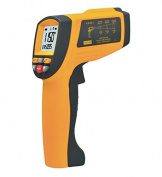 Infrared Thermometer, Lifenergy Non-Contact Laser Hand-held Industrial 50:1 IR Infrared Digital Thermometer Temperature Range