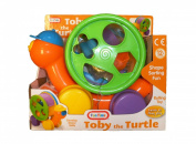 Learn and Play Turtle Pull Along Shape Sorter Toy - Suitable .