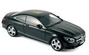 2014 Mercedes-Benz S-Klasse Coupé [Norev 183482], Black, 1:18 Die Cast