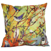 43 x 43CM Square Floral Decorative Throw Pillow Case Cushion Cover