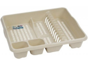 High Grade Extra Large Plastic Dish Drainer Plate and Cutlery Rack