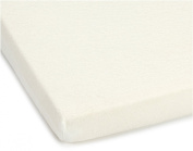 babybay fitted sheet terry cloth, white, for babybay original