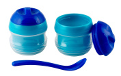 Primamma 002511 Set of Thermal Bowls Blue / Green