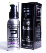 Luxury Facial Moisturiser for Men - 100ml - Natural Rehydrating Face, Body & Post Shave Soothing Cream - Anti Ageing UVA & UVB SPF Sunblock Protection Lotion - Mens Moisturiser Gift, All In One Skin Fuel