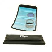 Ex-Pro Filter Lens Case for upto 6 Lens - 62mm - to - 82mm [Black]