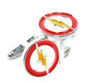 Flash Inspired Lighting Cufflinks - The Flash Superhero - Shirt Accessories for Men