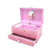 Mele & Co. Girls Musical Fairy Jewellery Box 1318