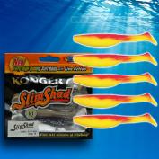 "Ripper Kopyto Soft Fishing Lures Bait 7.5cm 3"" Jig Heads Perch Pike Drop Shot Mix02"