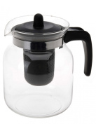 Glass Teapot 1.5 Litres Including Tea Strainer and Lid