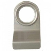 Door Cylinder Pull Handle for Yale type locks. Satin