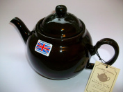 Traditional handmade Brown Betty 8 Cup Teapot in Rockingham Glaze by The China Street