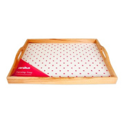 Anika Serving Tray, Red