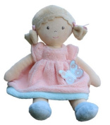Bonikka Butterfly Rag Doll - Peach