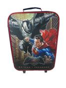 Batman Vs Superman Wheeled Children's Bag, 40 cm, 19 Litres, Black