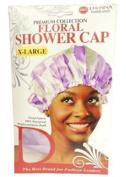 Donna's Premium Floral Shower Cap X-Large