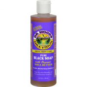 Dr. Woods Shea Vision Pure Black Soap with Organic Shea Butter - 240ml
