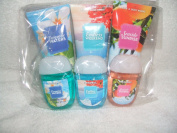 Bath & Body Works Hand Creams TURQUOISE WATER,ENDLESS WEEKEND, SEASIDE SUNRISE with hand gels to match