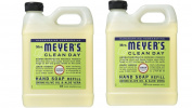 Mrs. Meyer's Liquid Hand Soap Refill, Lemon Verbena, 33 Fluid Ounce Pack of 2