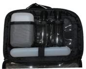 2-In-1 Shower Travel Bag Set, 5 pc