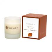 Sandrine & Jo Women's Warm Cinnamon Luxury Soya Candle