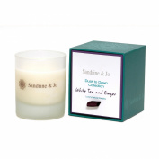 Sandrine & Jo Unisex White Tea And Ginger Luxury Soya Candle