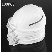 BephaMart 100PCS Dust Mask Disposable Cleaning Mouth Face Masks Clean Respirator Safety Shipped and Sold by BephaMart