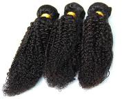 100g Kinky Wave Human Hair Brazilian Virgin Natural Black