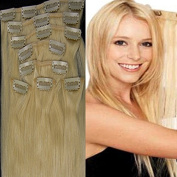 Fenicy 50cm 8PCS Remy Human Hair Extensions Chip in Straight 20 Colours