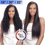 LOOSE WAVE CURL 7PCS (25cm 30cm 36cm ) - Nude Fresh Brazilian Virgin Remy 100% Human Hair Wet & Wavy