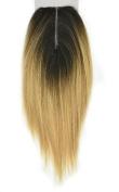 Invisible Lace Closure Natural Brazillian Virgin Remy 100% Human Hair