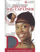 Donna's Premium Open Top Wig Cap Liner Comfortable Elastic Band