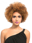 AFRO BOHEMIAN (1 Jet Black) - Hair Topic Synthetic Remi Touch Full Wig