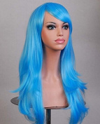 Women's 70cm Long Big Curl Wavy Synthetic Hair Cosplay Party Wig