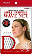 Donna's Premium Multi Purpose Wave Net One Size Comfortable Edges Protects Hairstyles