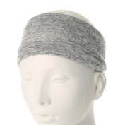 Icing Two-Tone Grey Jersey Headwrap