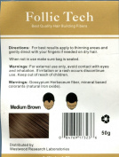 Medium Brown Keratin Hair Building Fibres 57 grammes Refill Your Existing Bottle, Made In The USA