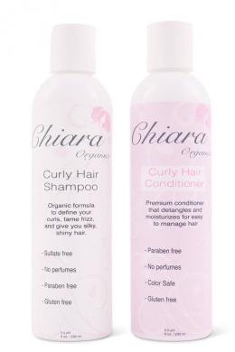 Curly Hair Shampoo and Conditioner Set for the Perfect Curl (240ml)