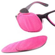Plinrise 6pcs Amblyopia Eye Patches For Glasses, Kids Eye Patch,Strabismus, Lazy Eye Patch For Children,Pink Colour