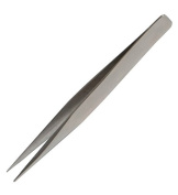 Zink Colour Pointed Tip Stainless Steel False Eyelashes Applicator / Nail Art Applicator
