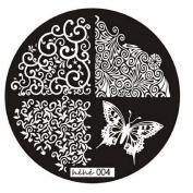 Susenstone® 2015 Pattern Nail Art Image Stamp Plates Manicure Template 004