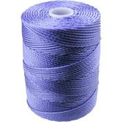 C-LON Bead Cord, Violet- .5mm, 92 Yard Spool