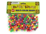 Multi-colour crafting pony beads - Pack of 2