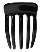 France Luxe Mini Toss Tooth Comb - Black