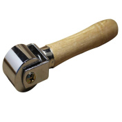 A Trust Leathercraft Roller for Leather Edger Creaser and Smoother with Wood Handle 1pc