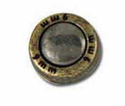 Shell Concho Rivet-9mm Tandy Leather 7403-03